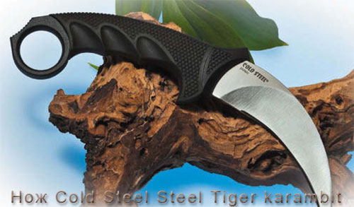 Нож Cold Steel Steel Tiger karambit