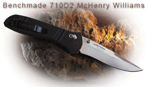 Нож Benchmade 710D2 McHenry Williams